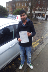 driving test london